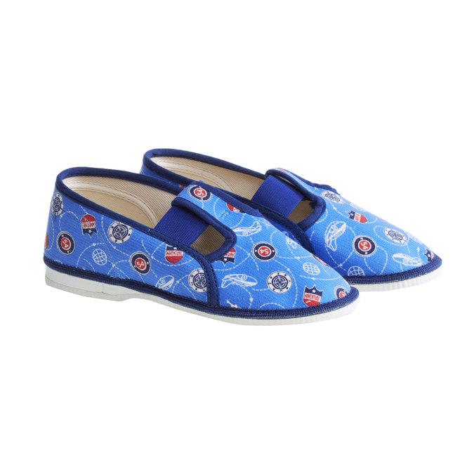 Pantofle dziecięce bata, niebieski, 279-9011 - 26