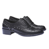 Damskie buty Slip-on z metalowymi ćwiekami bata, czarny, 511-6161 - 26