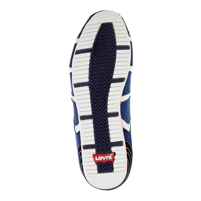 Męskie buty sportowe na co dzień levis, niebieski, 841-9198 - 26