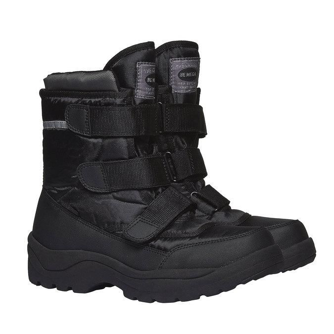 Buty zimowe bata, czarny, 899-6101 - 26