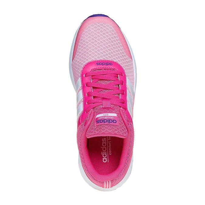 Dziewczęce buty sportowe adidas, różowy, 409-5230 - 19