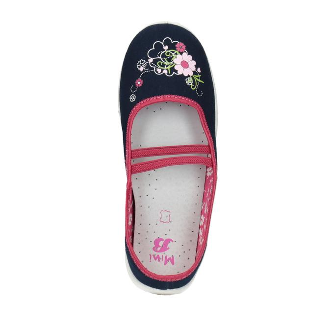 Domowe buty dziecięce mini-b, niebieski, 379-9208 - 19