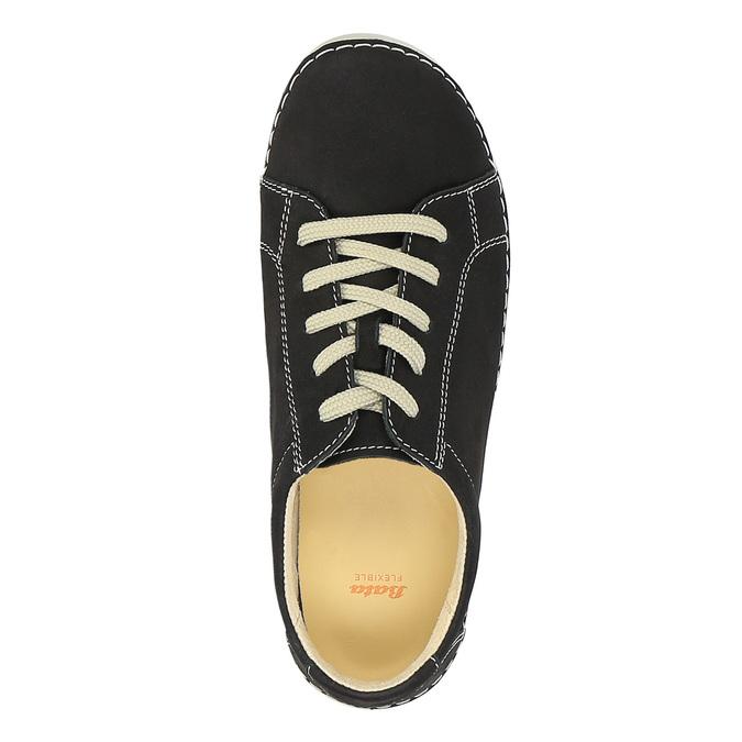 Skórzane buty sportowe na co dzień flexible, czarny, 526-6603 - 19