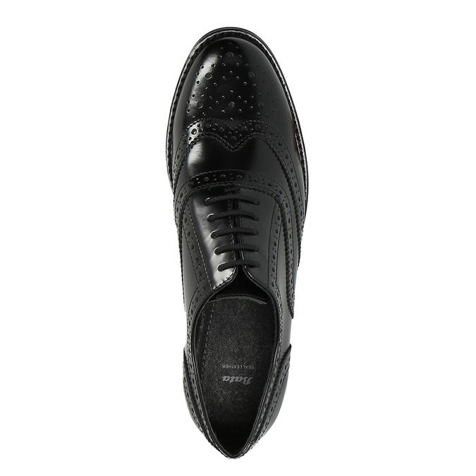 Półbuty damskie bata, czarny, 524-6600 - 19