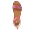 Dziecięce różowe sandały mini-b, różowy, 361-5161 - 19