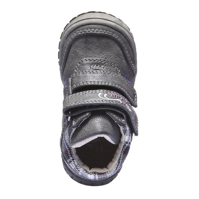 Dziecięce buty sportowe mini-b, szary, 121-2100 - 19