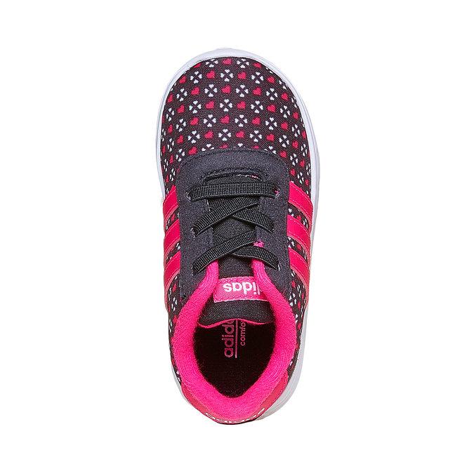 Dziewczęce buty sportowe adidas, czarny, 109-6141 - 19