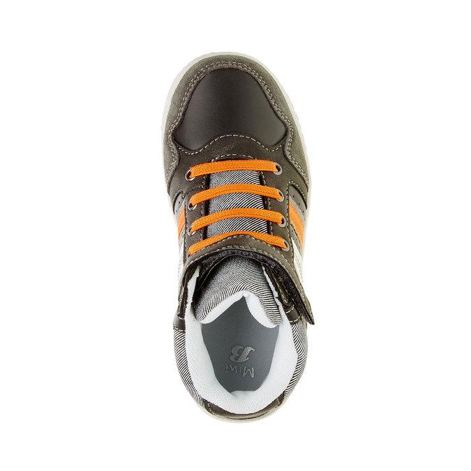 Dziecięce buty sportowe do kostki mini-b, szary, 211-2156 - 19