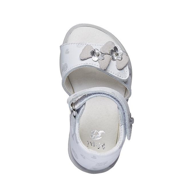 Białe sandały dziecięce bubblegummer, biały, 164-1129 - 19