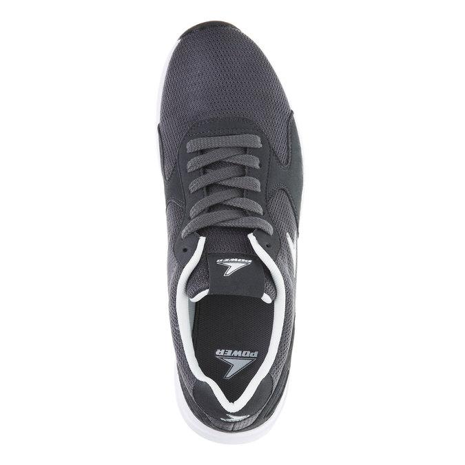Męskie buty sportowe power, szary, 809-2159 - 19