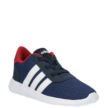 Trampki dziecięce o sportowym designie adidas, niebieski, 109-9141 - 13