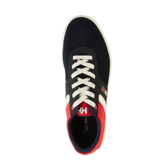 Skórzane buty sportowe na co dzień helly-hansen, czarny, 843-9006 - 19