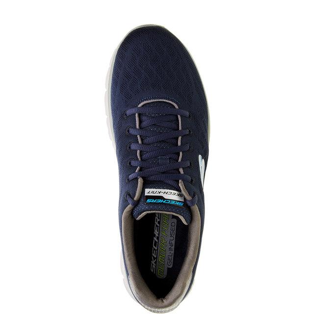Męskie buty sportowe skechers, niebieski, 809-9979 - 19