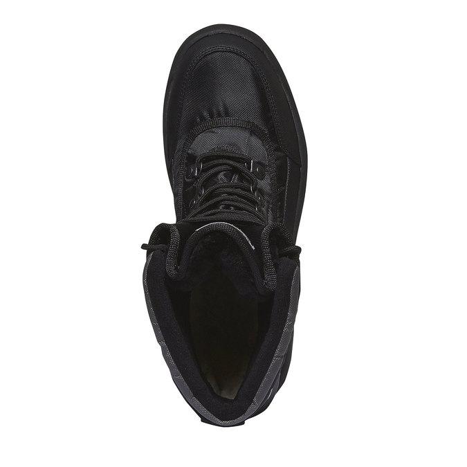 Męskie śniegowce bata, czarny, 899-6102 - 19