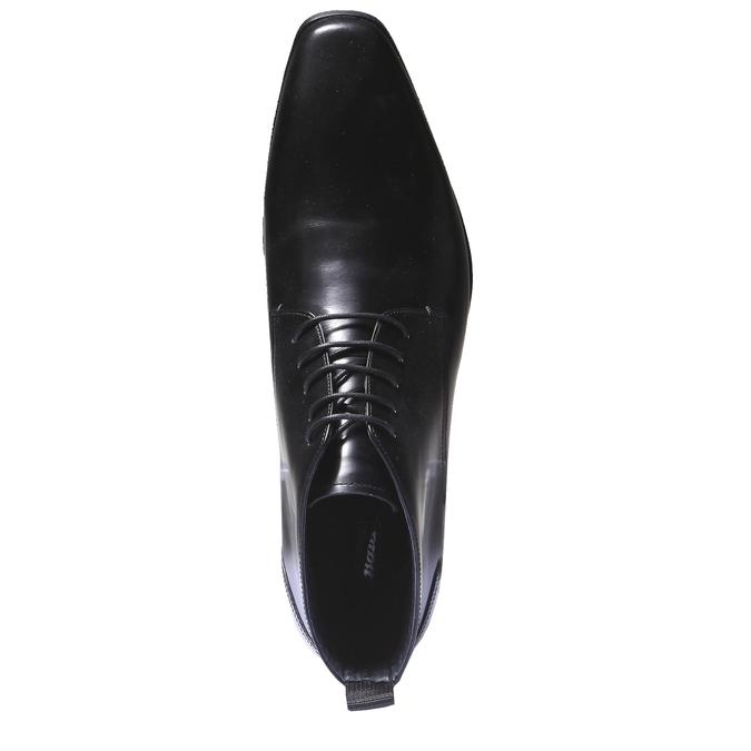 Skórzane botki bata, czarny, 894-6144 - 19