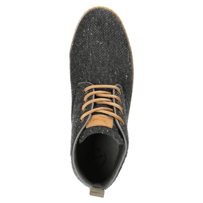 Trampki męskie bata, szary, 849-2621 - 19