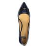 Czółenka damskie lakierowane bata, niebieski, 628-9630 - 19