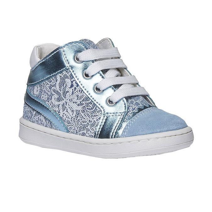 Dziecięce buty sportowe do kostki bubblegummer, niebieski, 129-9146 - 13