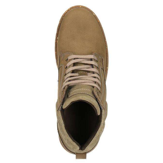 Zimowe buty męskie ze skóry weinbrenner, brązowy, 896-3102 - 19