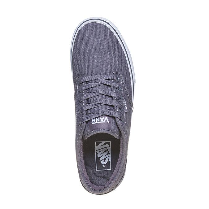 Klasyczne obuwie sportowe vans, szary, 889-2160 - 19