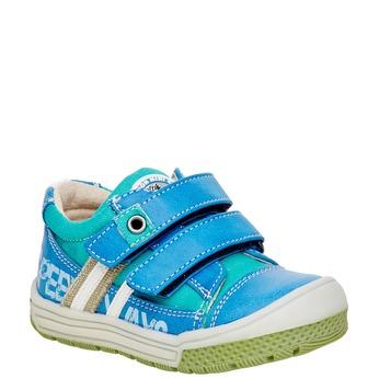 Dziecięce buty na rzep mini-b, niebieski, 111-9104 - 13