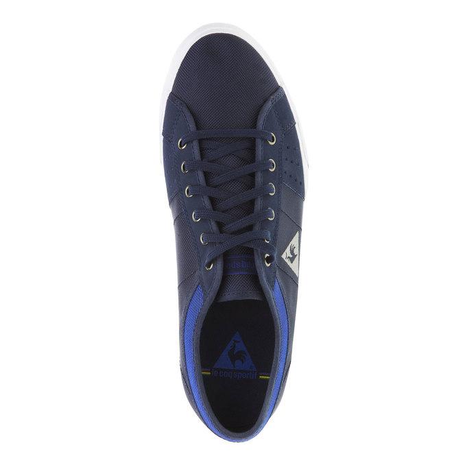 Ciemne męskie tenisówki le-coq-sportif, niebieski, 889-9156 - 19