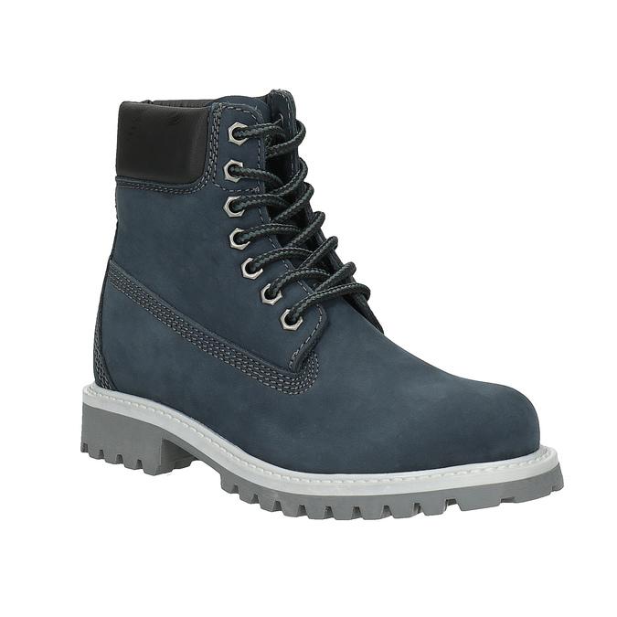 Dziecięce buty zimowe nad kostkę weinbrenner-junior, niebieski, 396-9263 - 13