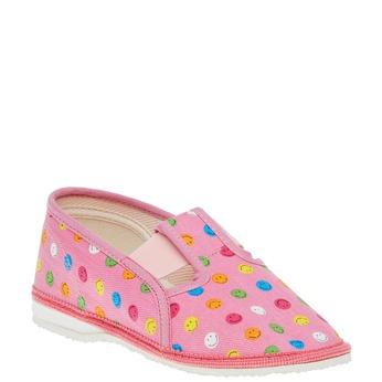 Kapcie dziecięce bata, różowy, 279-5011 - 13