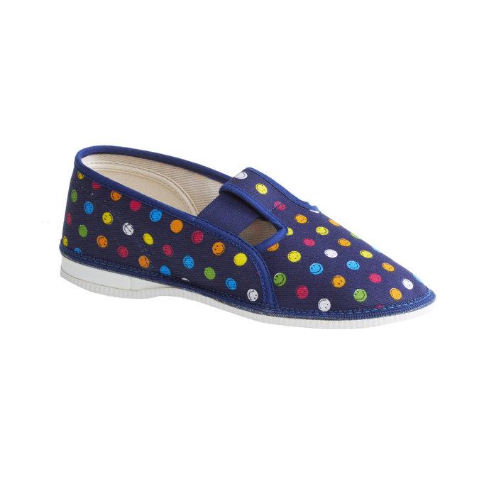 Dziecięce pantofle bata, niebieski, 379-5012 - 13