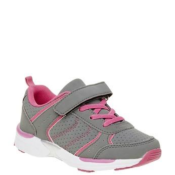 Dziecięce buty sportowe mini-b, szary, 321-2185 - 13