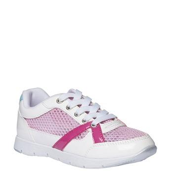 Dziewczęce buty sportowe mini-b, biały, 329-1175 - 13