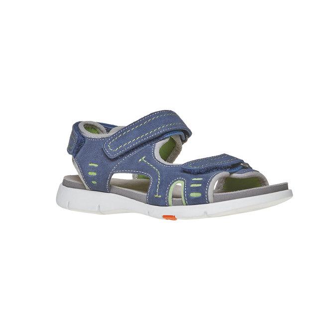 Sandały dziecięce flexible, niebieski, 363-9188 - 13