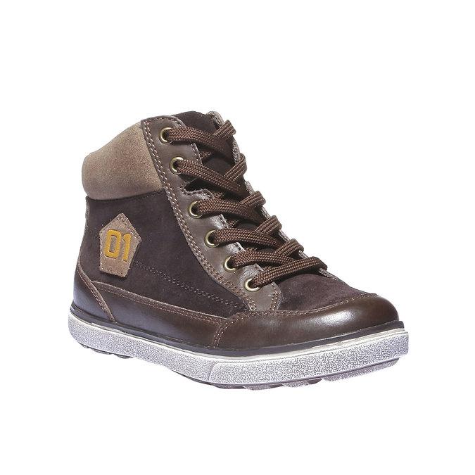 Buty dziecięce mini-b, brązowy, 313-4178 - 13