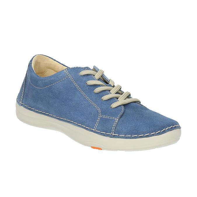 Skórzane buty sportowe na co dzień flexible, niebieski, 526-9603 - 13