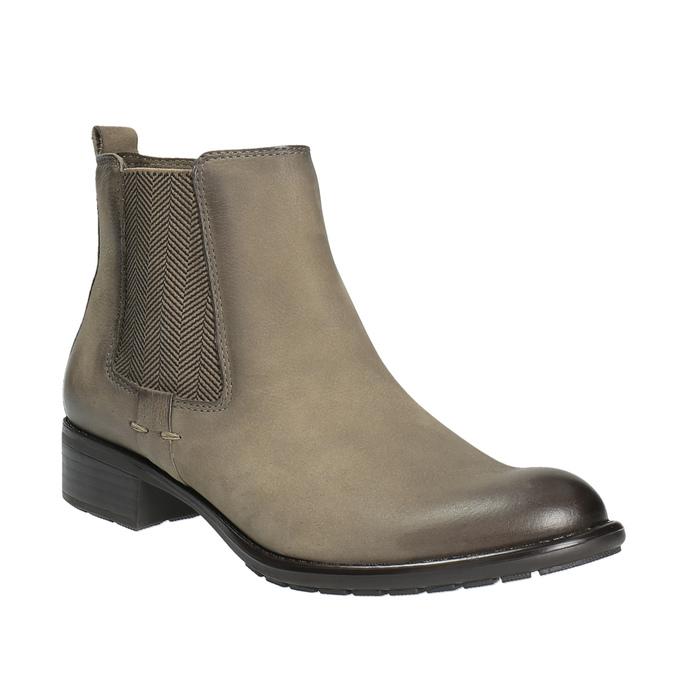 Botki damskie bata, brązowy, 596-2603 - 13