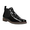Chelsea boots ze skóry bata, czarny, 598-6600 - 13