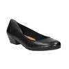 Buty na obcasie bata, czarny, 624-6115 - 13