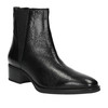 Damskie skórzane buty Chelsea Boots bata, czarny, 596-6623 - 13