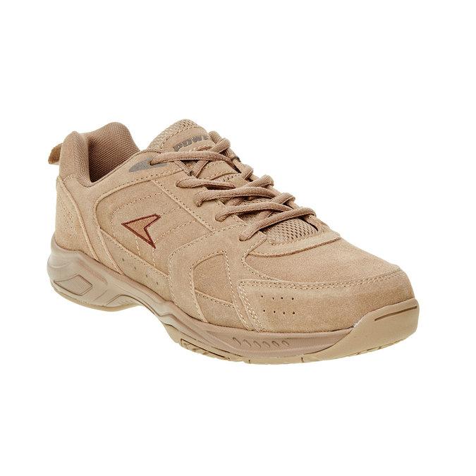 Skórzane buty sportowe power, brązowy, 803-3112 - 13