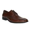 Brązowe skórzane półbuty bata, brązowy, 824-4723 - 13