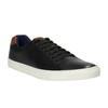 Męskie skórzane buty sportowe bata, czarny, 844-6626 - 13