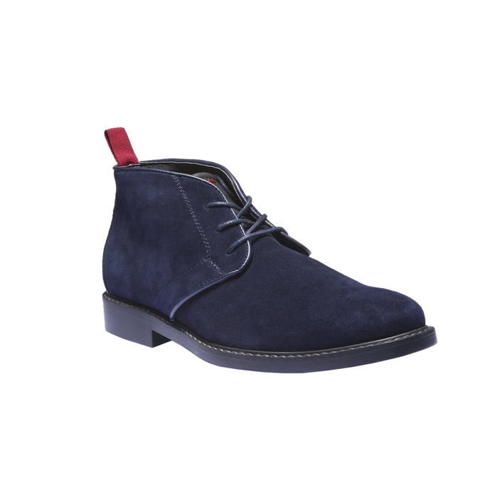 Skórzane buty Chukka bata, niebieski, 893-9245 - 13