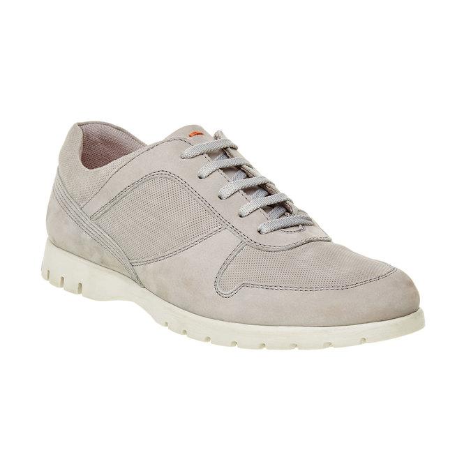 Skórzane buty sportowe na co dzień flexible, beżowy, 846-2650 - 13