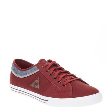 Męskie buty sportowe w codziennym stylu le-coq-sportif, czerwony, 889-5142 - 13