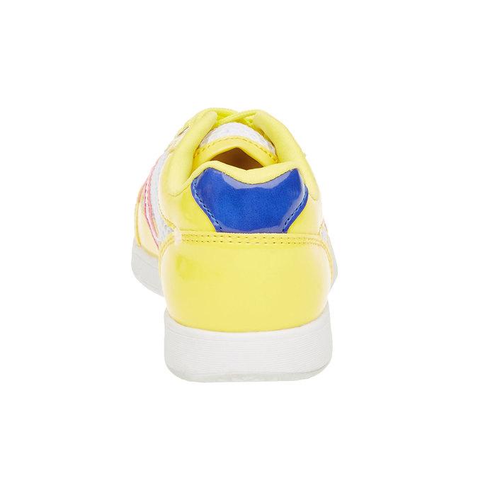 Dziecięce buty sportowe mini-b, żółty, 329-8175 - 17