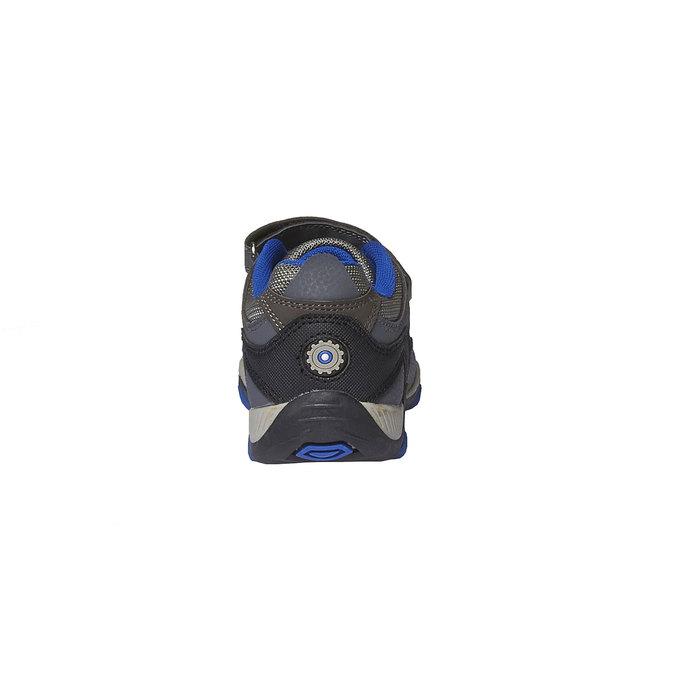 Dziecięce buty sportowe mini-b, szary, 311-2218 - 17