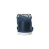 Dziecięce skórzane kapcie bata, niebieski, 104-9001 - 17