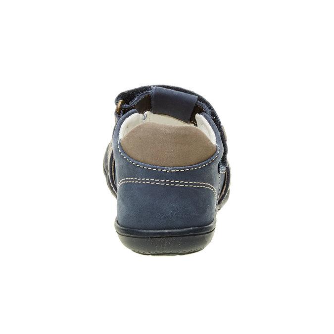 Dziecięce skórzane sandały primigi, niebieski, 113-9009 - 17
