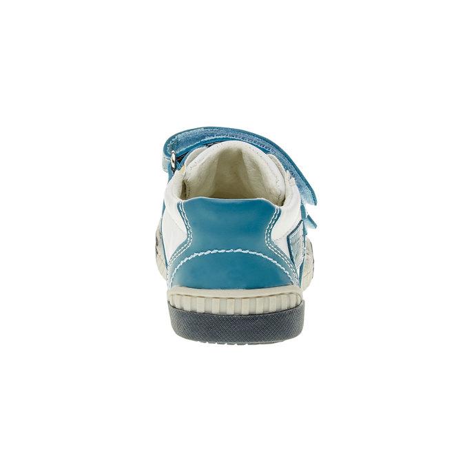 Dziecięce buty sportowe na rzepy bubblegummer, niebieski, 113-9145 - 17