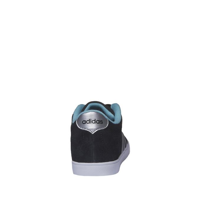 Zamszowe buty sportowe na co dzień adidas, czarny, 503-6685 - 17